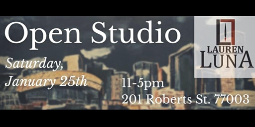 Lauren Luna Open Studio