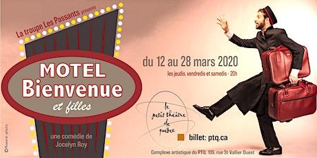 Motel Bienvenue et filles -12 mars billets