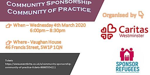 Community Sponsorship Community of Practice