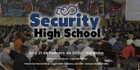 Security High School - Sexta Edición SHS2k20 entradas