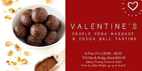 Valentine's Partner Yoga & Cocoa ball tasting Workshop  tickets