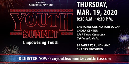 Cherokee Nation Tribal Youth Summit