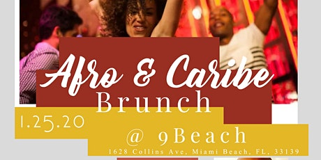 AFRO CARIBE BRUNCH & DANCE PARTY tickets