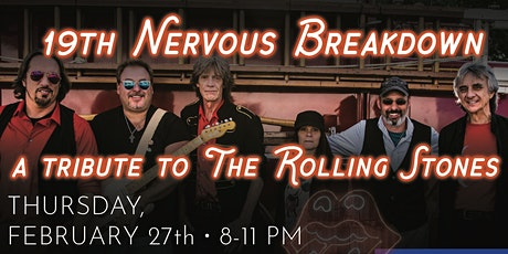 19th Nervous Breakdown: A Tribute to The Rolling Stones tickets