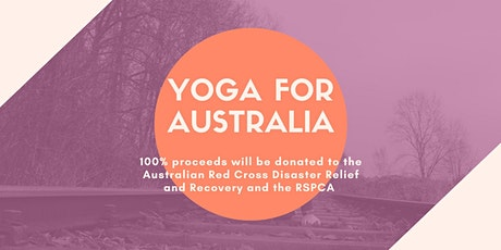 Yoga Fundraiser For Australia tickets