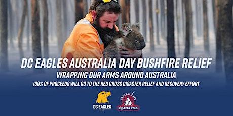 DC Eagles  Australia Day Bushfire Relief Fundraiser tickets