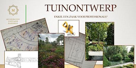Workshop Tuinontwerp tickets