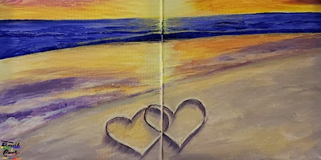 Valentine's Day Dinner & LOVE On The Beach Painting Event tickets
