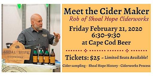 Meet the Cider Maker: Rob of Shoal Hope Ciderworks!