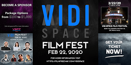 VIDI SPACE FILM FESTIVAL tickets