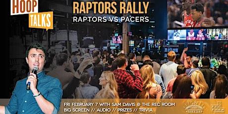 Hoop Talks Raptors Rally: Raptors-Pacers Square One tickets