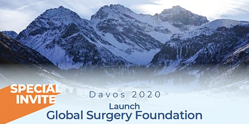 Davos 2020 Launch - Global Surgery Foundation