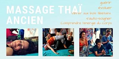 MASSAGE THAÏ ANCIEN, massage thérapeutique nivea