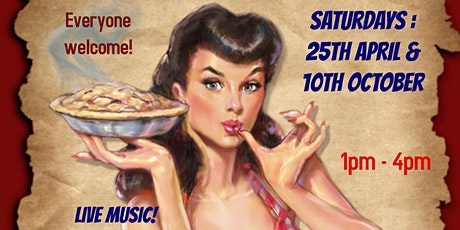 Vintage, Retro & Craft Fayre  - live music, dancing, afternoon tea tickets