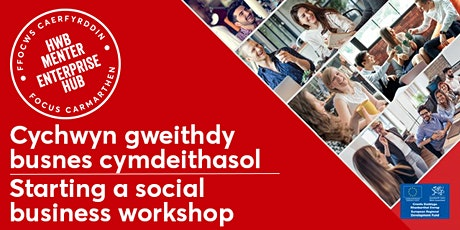 Starting a Social Business |  Cychwyn Busnes Cymdeithasol tickets