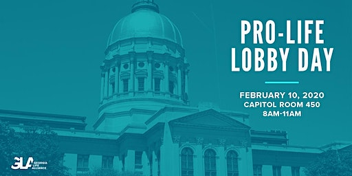 *NEW DATE* Georgia Pro-Life Lobby Day 2020