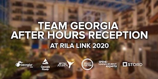 Team Georgia After Hours Reception @ RILA LINK 2020
