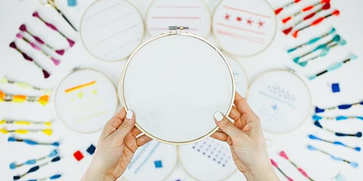 Get Powered: Feminist Cross Stitch Workshop - South Coast Plaza