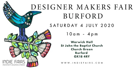 DESIGNER MAKERS FAIR BURFORD tickets