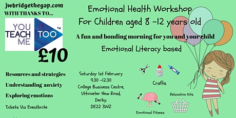 Emotional Health Workshop for Children aged 7-12 years tickets