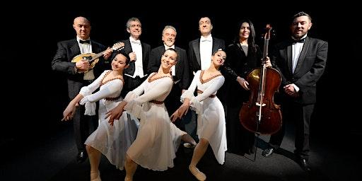 I Tre Tenori a Roma Orchestra di mandolini napoletani e balletto