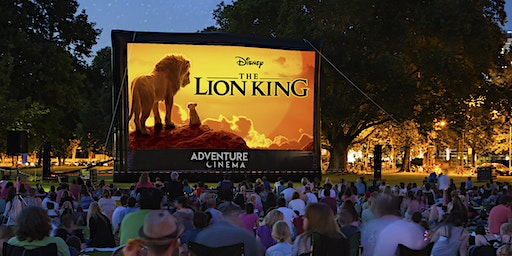 Disney The Lion King Outdoor Cinema Experience in Portsmouth