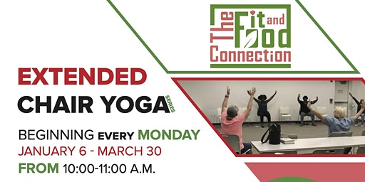 Want FREE Yoga? Try Out This Extended Chair Yoga Series at a NEW LOCATION!