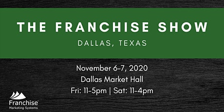 The Franchise Show: Dallas, TX tickets