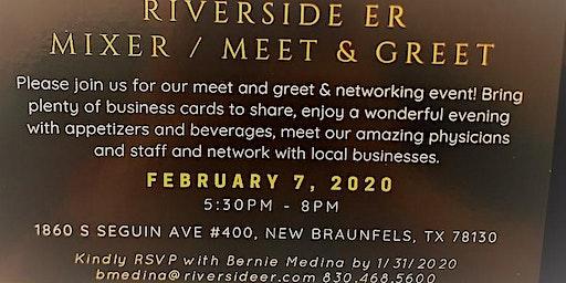 Riverside ER Mixer/Meet & Greet