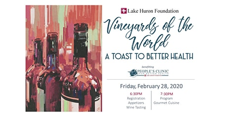 Vineyards of the World - A Toast to Better Health tickets