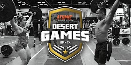 2020 Desert Games entradas