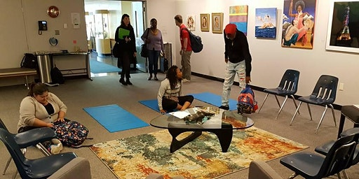 Yoga in the Art Gallery