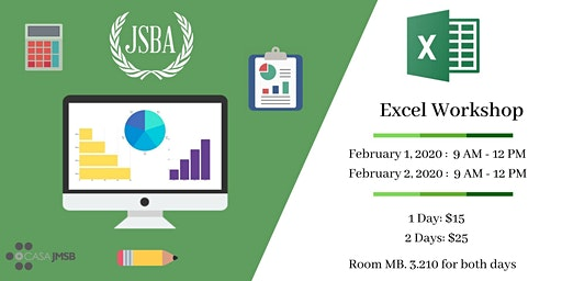 JSBA's Excel Workshop
