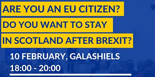 Information Session on EU Settlement Scheme in Galashiels