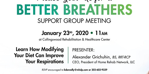 Better Breather's Club Support Group