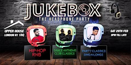Jukebox - The headphone party (Islington) tickets