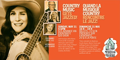 Country Music gets Jazzed! tickets