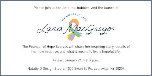 Lara MacGregor Launch Event