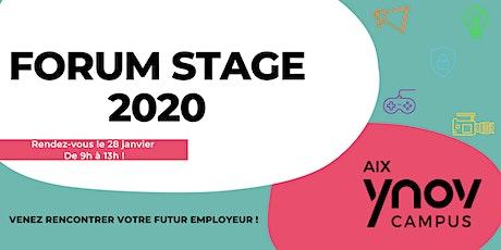 Forum Stage 2020 billets