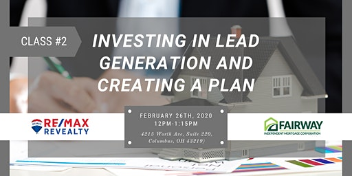 Investing in Lead Generation and Creating a Plan