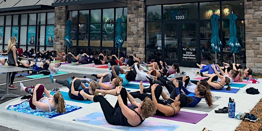 Free Pilates and 50% Off Bolay!