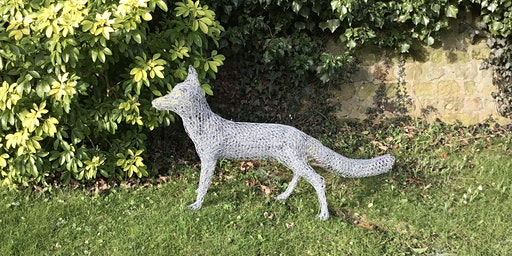 Chicken Wire Sculpture - Make a Standing Fox in 3 days