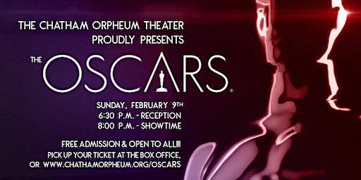 Oscars 2020 at the Chatham Orpheum!