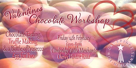Special Offer! Valentines Chocolate Workshop  for Two (CH) tickets