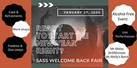 SASS Welcome Back Fair tickets