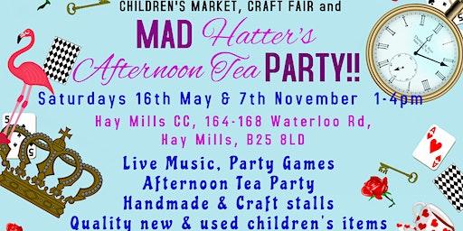 Children's Market, Craft Fair & Mad Hatter's Tea Party