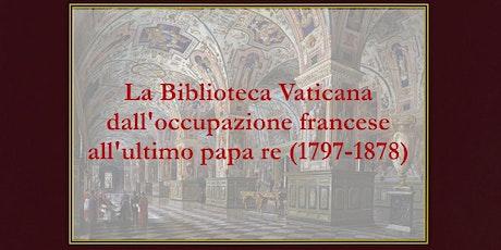 Storia della Biblioteca Apostolica Vaticana, vol. V biglietti
