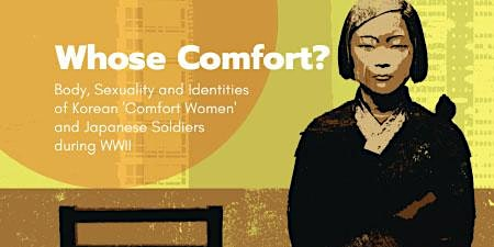 'Whose Comfort?' Book Launch with Author Yonson Ahn