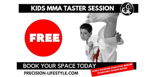 FREE Kids MMA Taster Session (5-10yrs)