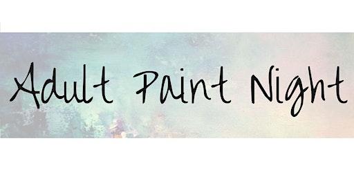 Adult Paint Night